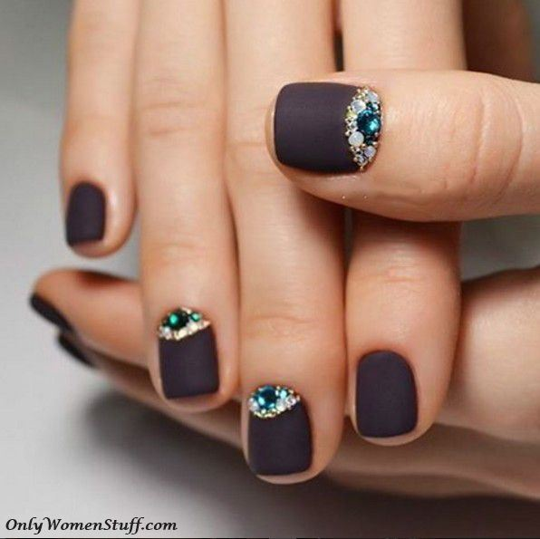 Beautiful And Easy Nail Art Designs Ideas For Short Nails