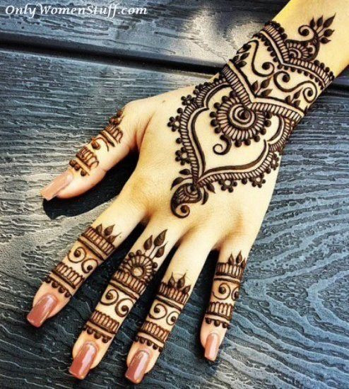 101 beautiful henna mehndi designs ideas easy mehandi art. Black Bedroom Furniture Sets. Home Design Ideas