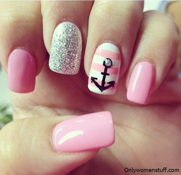 Nail designs, Nail designs pictures, Nail designs images, Nail designs  ideas, Nail. Easy Nail Art Picture - 122+ Latest Nail Designs Ideas (Best Nail Art Pictures)