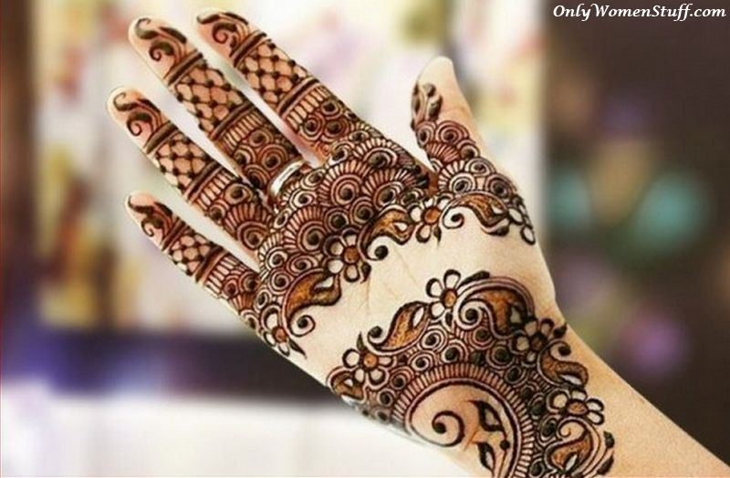 Mehndi Flower Designs For Hands : 101 beautiful henna mehndi designs ideas easy mehandi art