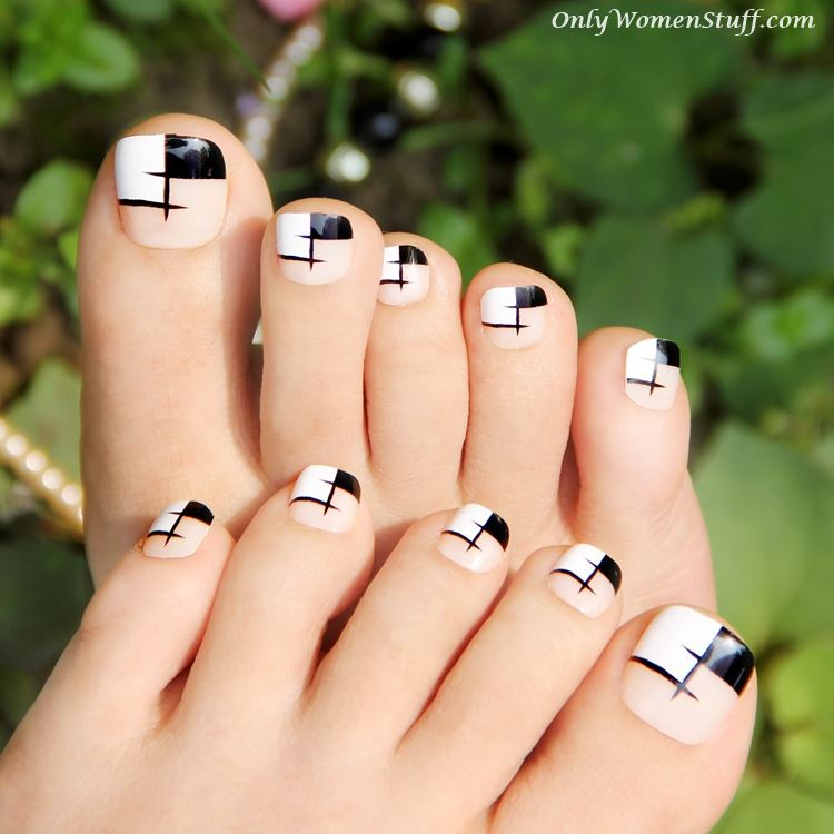 30+ Cute Toe Nail Designs Ideas - Easy Toenail Art Tutorial