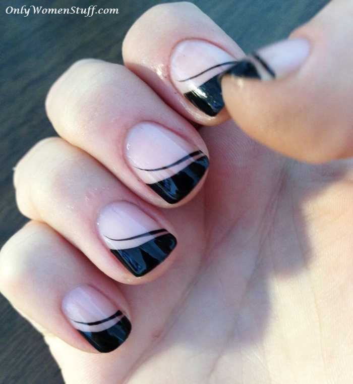 31 cute nail art designs for short nails short nails short nail art short nail designs nail designs for short nails prinsesfo Images