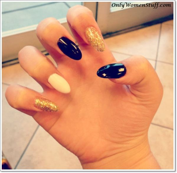 33+ Cute Long Nail Art Designs with Pictures