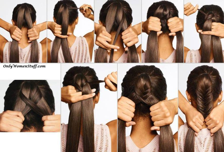 Easy and simple hairstyles, cute hairstyles, simple hairdos, easy hairstyles, beautiful hairstyles, latest hairstyles images, new hairstyles images, step by step hairstyle images, hairstyle tutorials.