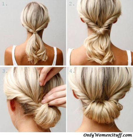 Hair Style Step By Step Classy 42 Easy Hairstyles For Girls  Simple Stepstep Pictures
