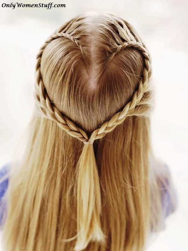 Hairstyles Step By Step be ready to stand out of crowd with this romantic heart braided hairstyle diy Easy And Simple Hairstyles Cute Hairstyles Simple Hairdos Easy Hairstyles Beautiful Hairstyles