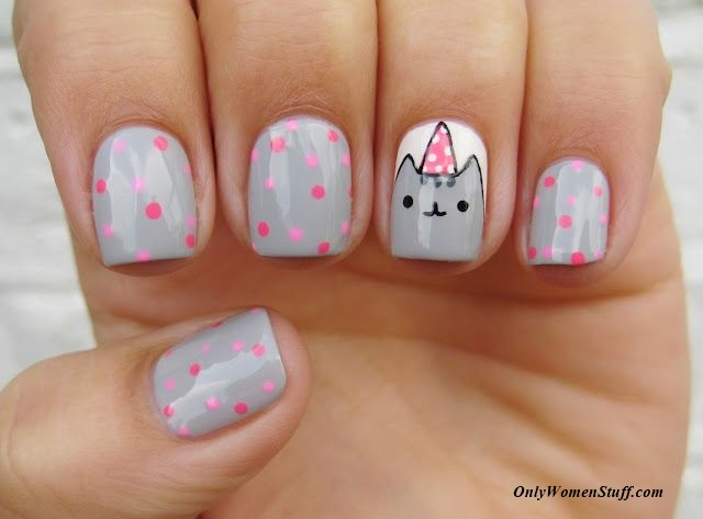 20 easy nail designs for kids to do at home step by step