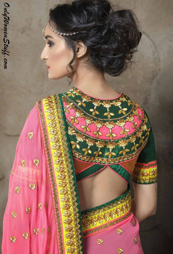 100+ New Blouse Designs Pattern - Back U0026 Neck Designer Saree Blouses