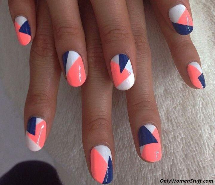 65 easy and simple nail art designs for beginners to do at home easy nail art designs for beginners easy nail art designs at home for beginners without prinsesfo Choice Image