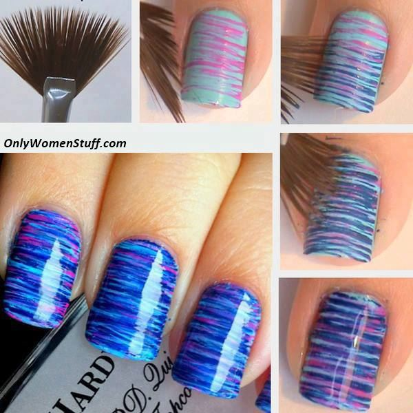 65 easy and simple nail art designs for beginners to do at home easy nail art designs for beginners easy nail art designs at home for beginners without prinsesfo Image collections