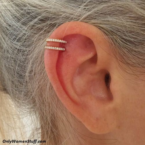 1000+ Cute Ear Cartilage Piercing Ideas and Types Ear Piercings Cartilage