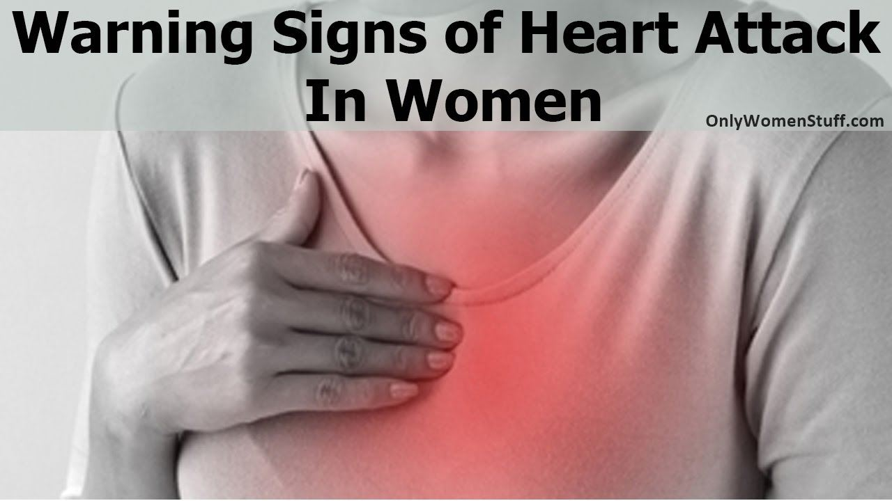 Sign and Symptoms of Heart Attack in Women