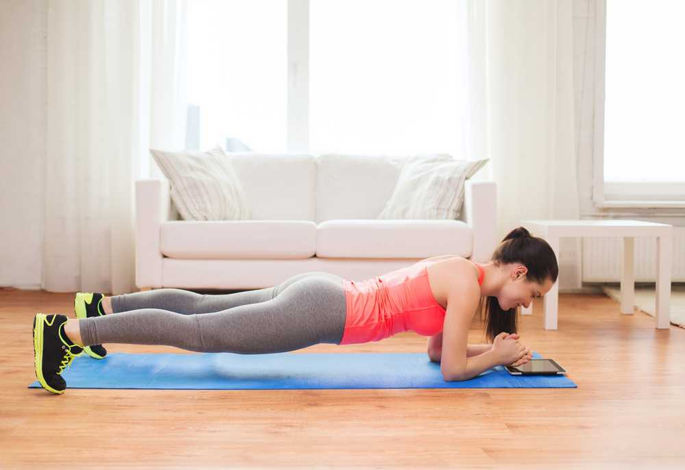 plank - Workout for busy mom, exercise for women at home, easy exercise to do at home for women and mom