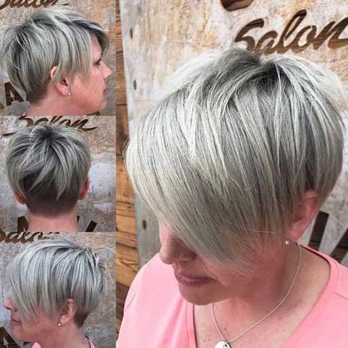 15 Best Short Hairstyles For Women Over 50