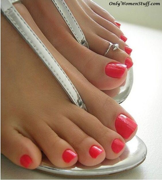 Toe Nail Design Cute