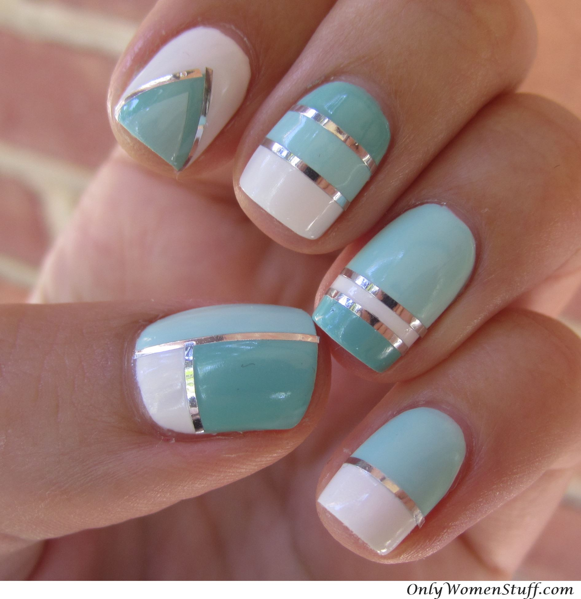 Nail art simple designs for short nails best nails 2018 31 cute nail art designs for short nails prinsesfo Images
