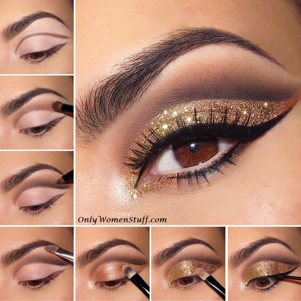 15 easy eye makeup ideas & style pictures (step by step)