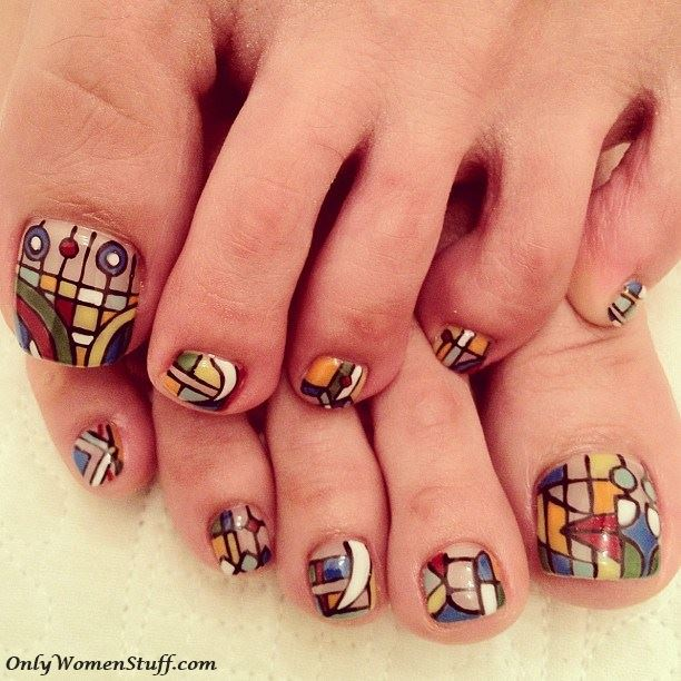 30 Cute Toe Nail Designs Ideas Easy Toenail Art - Ideas For Toe Nail Designs - Best Nails 2018