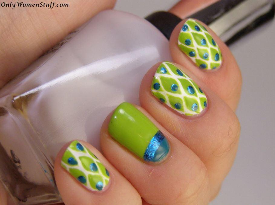 31+ Cute Nail Art Designs for Short Nails