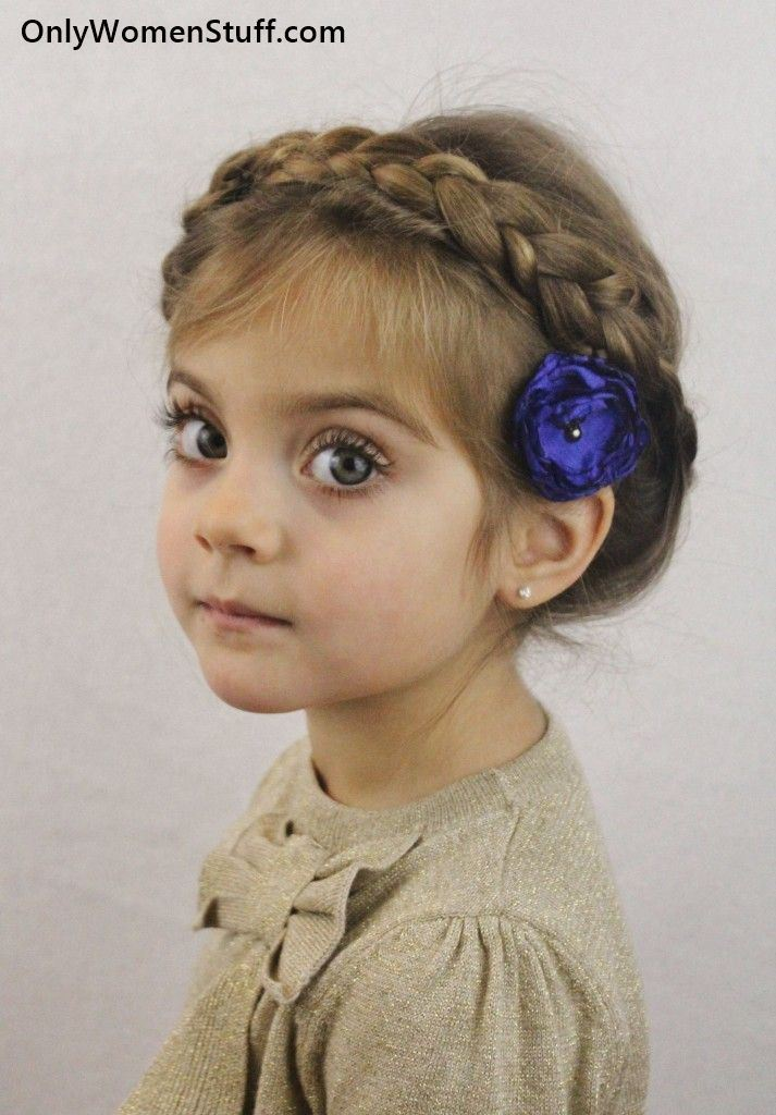 30 Easykids Hairstylesideas For Little Girls Very Cute
