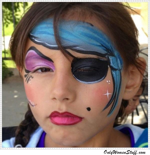 15 Easy Kids Face Painting Ideas For Little Girls Diy