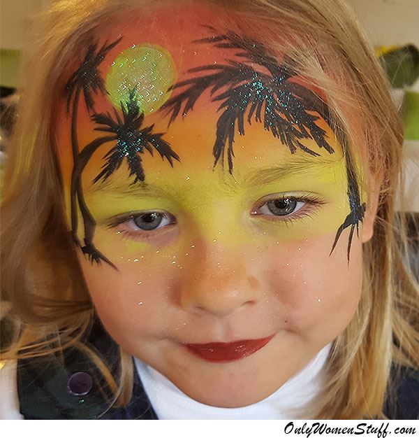 Easy Kids Face Painting Ideas Designs For Little Girls - Simple face painting