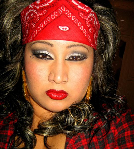 chola makeup, chola makeup tutorial, chola makeup eyes, chola makeup hair, chola makeup eyebrow, chola makeup lipstick