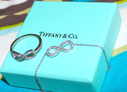 Tiffany Finger Rings and Necklace Jewelry