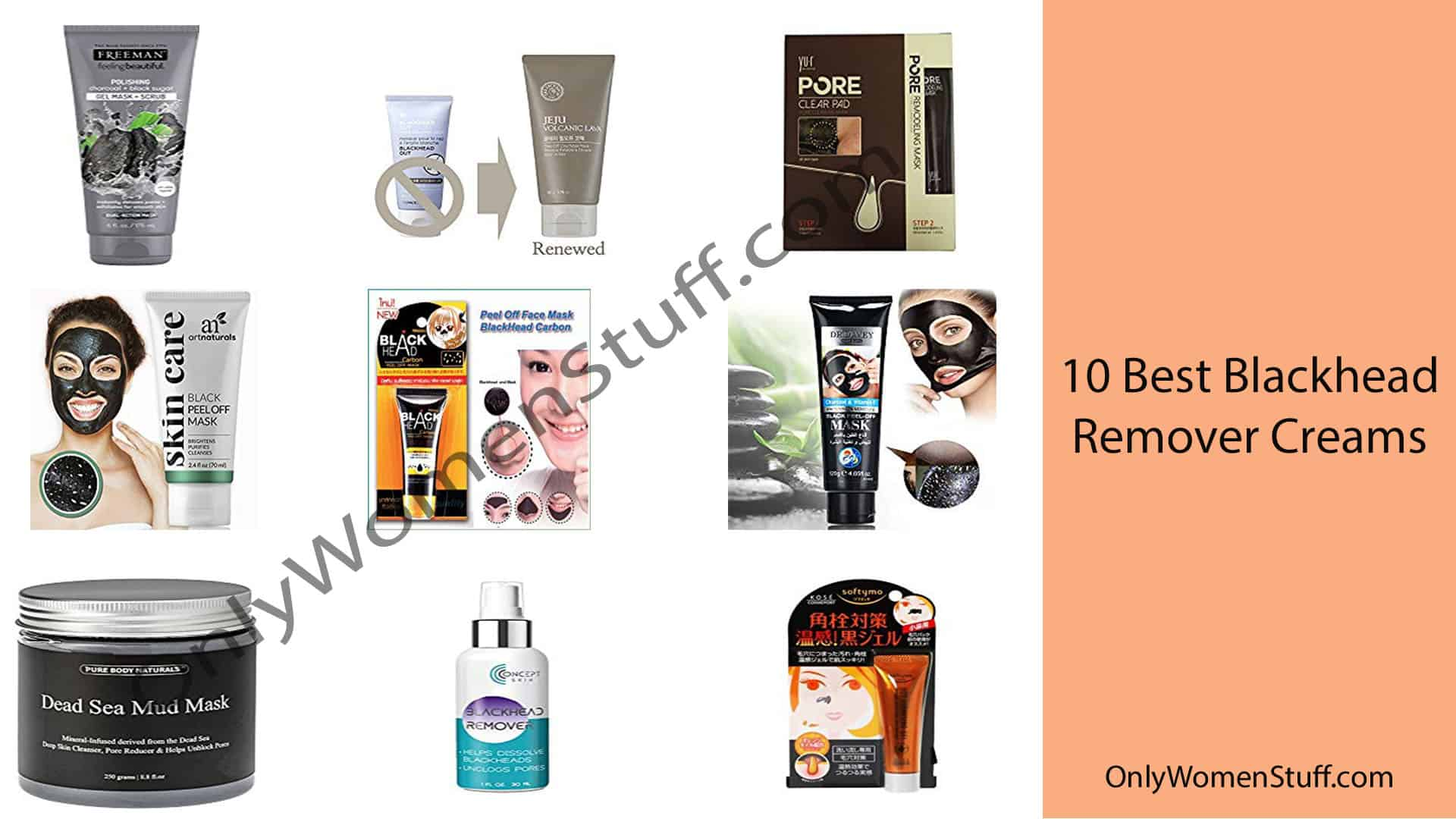 10 Best Blackhead Remover Creams Products with Reviews