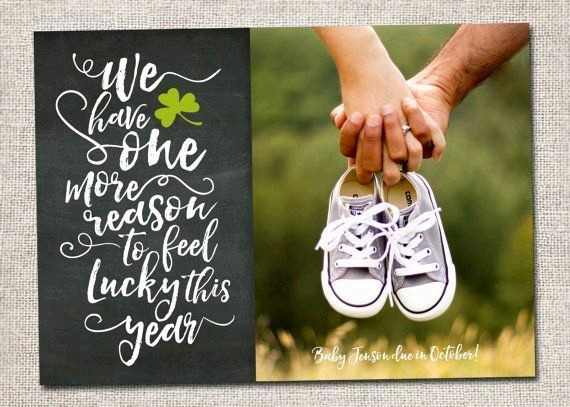 Pregnancy Announcement for Friends
