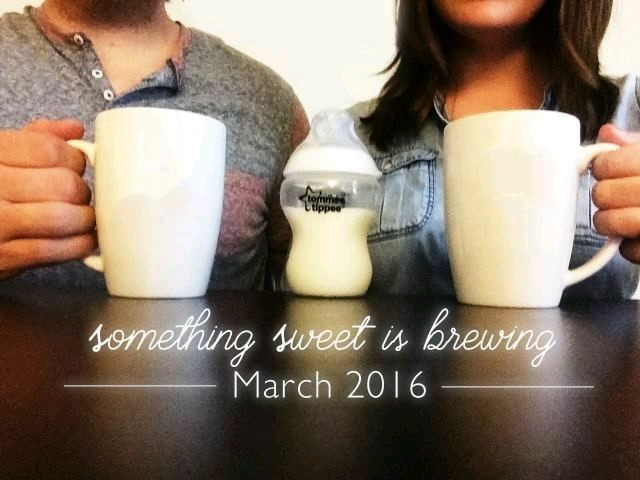 What's brewing: ways to announce pregnancy on social media