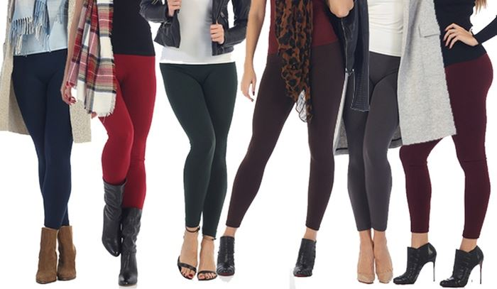 10 Fleece Lined Leggings to Beat the Cold Winter