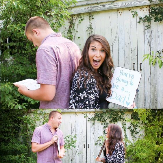 Pregnancy Announcement Ideas for Dad