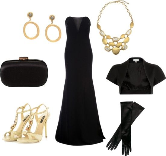 evening dresses accessories