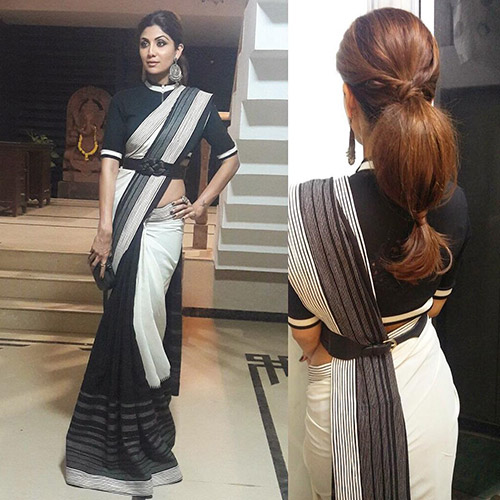 Saree Hairstyles For Women: Top 15 Hairstyles For Sarees Pictures For All Types Of Face