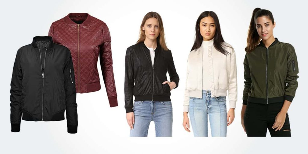luxury women's bombers jackets
