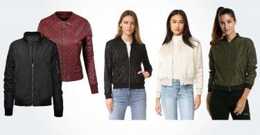luxury women's bombers jackets