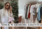 Summer To Fall Transition Season Wardrobe Essentials